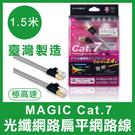 【台灣製造】 MAGIC Cat.7 FTP 光纖網路 網路線 1.5M