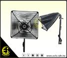 ES數位館 E27 陶瓷燈頭 30CM 摺疊反光燈罩 攝影燈罩雙燈組 獨立線控開關
