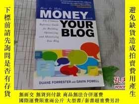 二手書博民逛書店HOW罕見TO MAKE MONEY WITH YOUR BLO