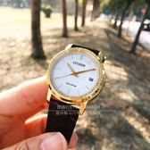 CITIZEN日本星辰Eco-Drive系列經典概念光動能日期腕錶FE6012-11A公司貨