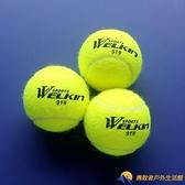 網球初學者高彈性耐打訓練球拍耐磨初中級比賽球按摩寵物球【勇敢者】