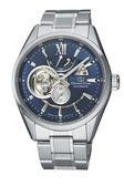 【分期0利率】 東方之星 Orient Star 藍面 簍空機械錶 能量儲存指示針 RE-AV0003L