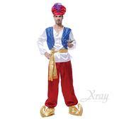 節慶王【W370049】大人阿拉丁,萬聖節/化妝舞會/角色扮演/聖誕節/cosplay/變裝派對/尾牙表演