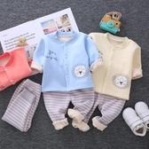 限定款鋪棉套裝 新生嬰兒保暖衣套裝加厚內刷毛寶寶幼兒童內衣秋衣長袖秋冬季0-1歲2
