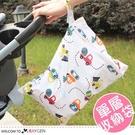 卡通印花單層拉鍊防水尿布袋 嬰兒尿片收納袋 小尺寸