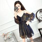夜店裙子性感女裝連身裙顯瘦超仙 易樂購生活館