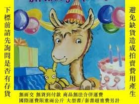 二手書博民逛書店sticker罕見stories llama llama birthday artu! anna dewdney