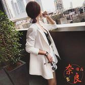 韓版小西裝短褲套裝女休閒小香風西裝外套兩件套【奈良優品】
