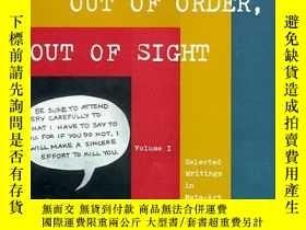 二手書博民逛書店Out罕見of Order, Out of Sight (2 V