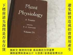 二手書博民逛書店Plant罕見Physiology IA) )精裝 Volume