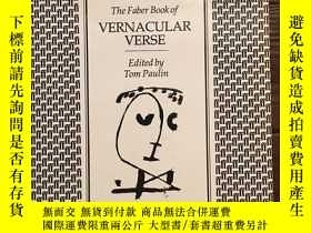 二手書博民逛書店The罕見Faber Book of Vernacular Ve