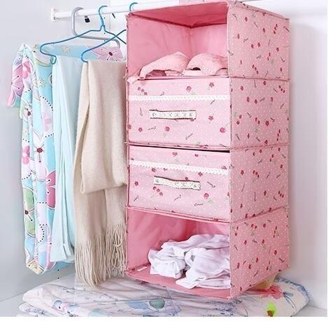 雙十一返場促銷多層衣櫃收納挂袋宿舍懸挂式衣服收納袋儲物袋布藝收納整理袋