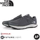 【The North Face 男 FL 防水健行鞋《灰》】4OA5/防水透氣野跑鞋/慢跑鞋/健行鞋