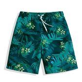 海灘褲 泳褲 沙灘褲速乾海邊度假寬鬆情侶裝溫泉短褲五分平角泳褲 免運