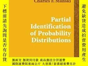 二手書博民逛書店Partial罕見Identification Of Probability DistributionsY25