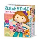 【4M】02765 美勞創作-旅遊女孩 Stitch a doll Go Traveling