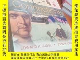 二手書博民逛書店原版16開厚冊罕見Connections: A World History, Combined Volume (s