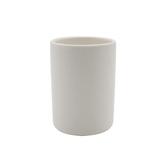 貝里斯陶瓷漱口杯 白
