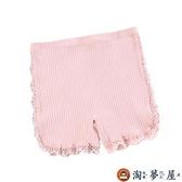 女童安全褲防走光女寶寶平角內褲純棉兒童短褲夏季薄款【淘夢屋】