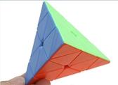 魔方 裕鑫智勝彩色金字塔魔方三角智力順滑比賽專用初學者兒童益智玩具 交換禮物