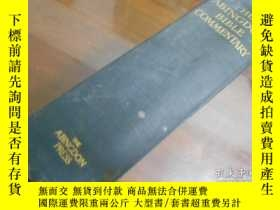 二手書博民逛書店THE罕見ABINGDON BIBLE COMMENTARY(英