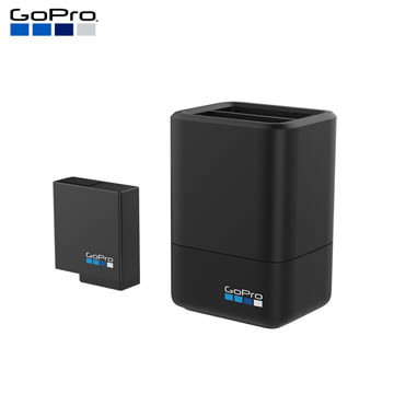 【】GoPro HERO5 HERO6 HERO7 雙電池充電器+電