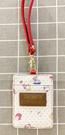 【震撼精品百貨】Hello Kitty 凱蒂貓~KITTY日本SANRIO三麗鷗KITTY證件套/票夾-sanrio家族*12621