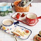 泡麵碗創意早餐碗 帶把麥片碗陶瓷泡面碗日式米飯碗甜品餐具下午茶套裝