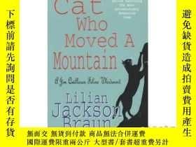 二手書博民逛書店Cat罕見Who Moved a Mountain (The Cat Who... M...-貓誰移動了一座山(貓