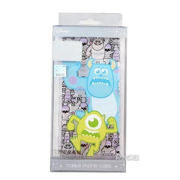 迪士尼空壓透明軟殼 [主題] 怪獸大學 SONY Xperia Z5 Premium E6853【Disney正版授權】