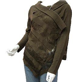 【波克貓哈日網】日本流行圍巾外套◇多變式上衣◇《咖啡色》功能性波西米亞個性風