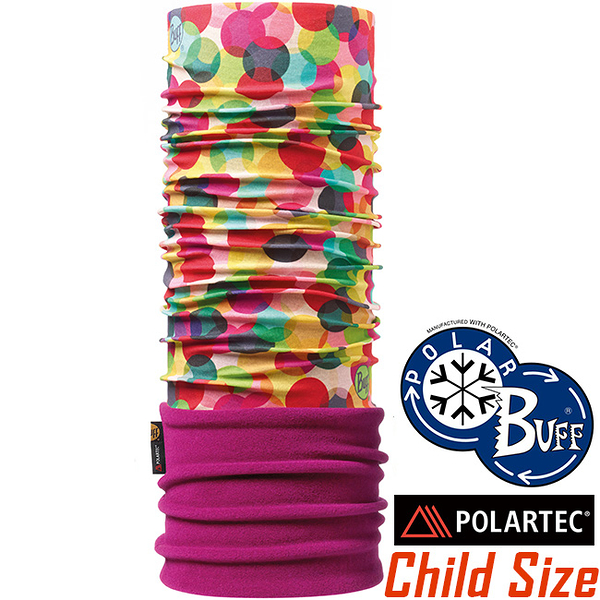 BUFF 111292 Child Polar 兒童單面保暖魔術頭巾 Polartec機能布料 東山戶外
