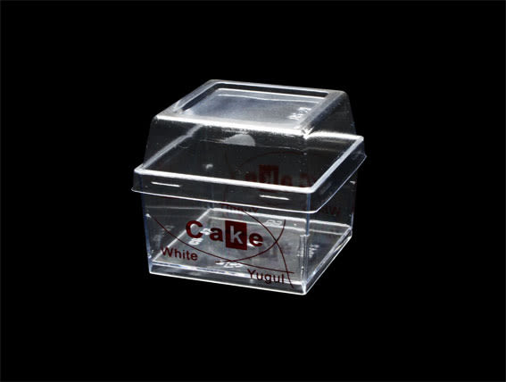 10入 145cc 大方杯 透明杯  附蓋  D7042