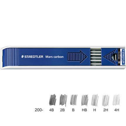 [奇奇文具]    STAEDTLER 200-B工程筆蕊 12入