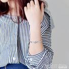 手鐲女韓版 帶扣簡約學生百搭韓國復古潮人原宿森繫氣質手圈手環