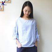American Bluedeer - 點點抽繩上衣(魅力價) 春夏新款