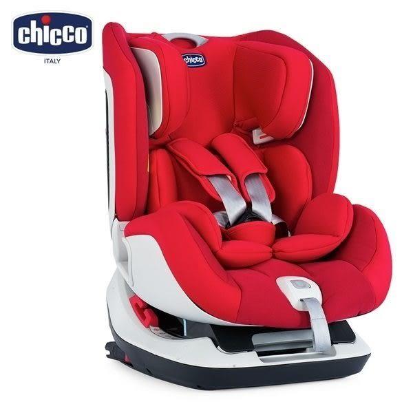 Chicco Seat up 012 Isofix 安全汽座 自信紅 贈汽座保護墊
