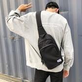 新款多功能胸包男韓版潮流學生運動小背包男士休閒胸前單肩斜挎包