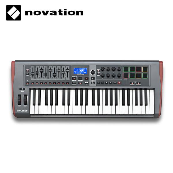 小叮噹的店- 49鍵 USB MIDI 主控鍵盤 Novation Impulse
