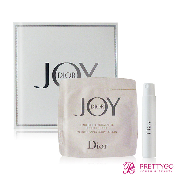 Dior 迪奧 JOY by Dior 淡香精與身體乳(1ml+1.5ml) EDP-香水隨身針管試香【美麗購】