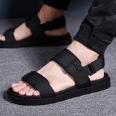 男士涼鞋夏季男生涼拖鞋 休閒軟底沙灘鞋子