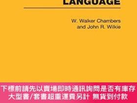 二手書博民逛書店A罕見Short History Of The German Language (rle Linguistics