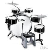 大號架子鼓兒童初學者爵士鼓玩具打鼓樂器1-3-6歲男孩敲打鼓禮物 aj7193『紅袖伊人』