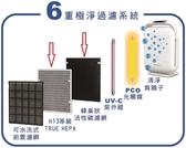 【三洋原廠配件】ABC-M8專用濾網及活性碳 CAFT-M8HC