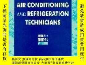 二手書博民逛書店Electricity罕見For Air Conditioning And Refrigeration Techn
