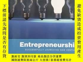 二手書博民逛書店Entreperneurship-----SUCCESSFULLY,LAUNCHING,NEW,VENTURES(