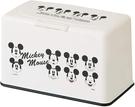 【米奇 口罩收納盒】迪士尼 抽取式 米奇 口罩收納盒 面紙盒 收納60片 日本正品 該該貝比