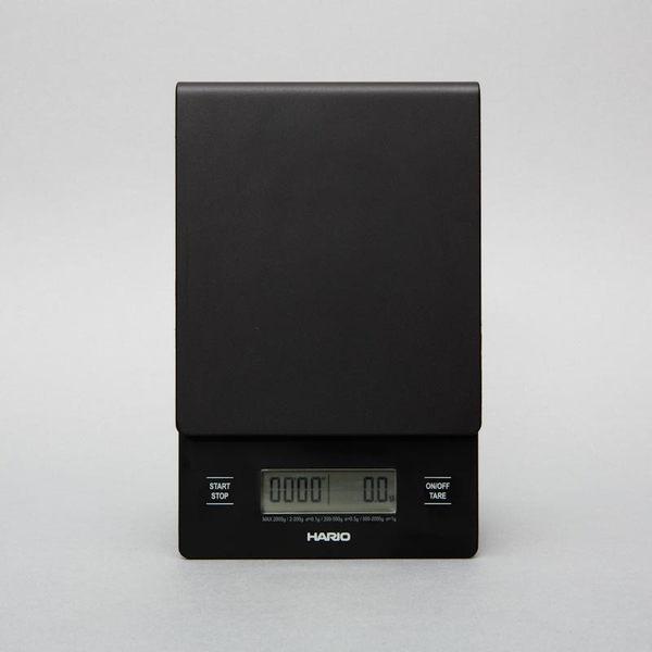 代理公司貨保固 HARIO 專業電子秤 VST-2000B 可同時計時 V60 磅秤 手沖專用 最大2000g
