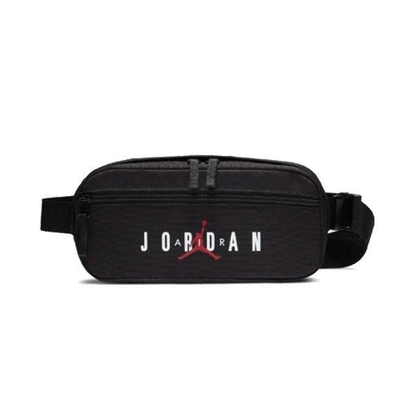 Air Jordan 黑色 腰包 側背包 隨身腰包 單速車 單肩包 腰包 嘻哈 饒舌 慢跑 運動 9A0201-023