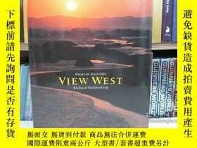 二手書博民逛書店western罕見Australia view west 澳大利